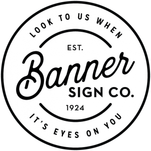 Updated Banner Sign Company Logo