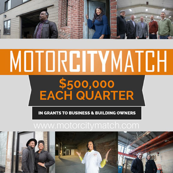Banner Sign awarded grant for Motor City Match