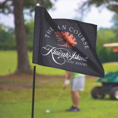Golf Course Flags