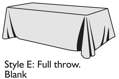 Optimized Table Cover Style E