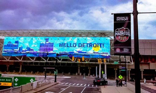 Hello Detroit - Sign