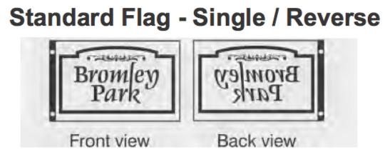 Standard Singleside - Reverse Read
