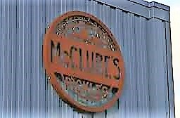 McClure's Pickels Sign