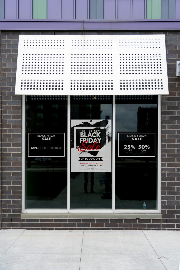 Window Graphic Black Friday