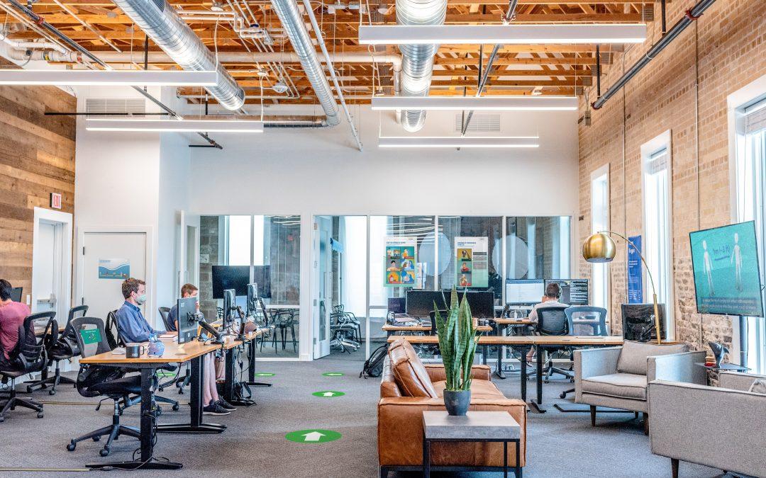 Office Safety Floor Decals
